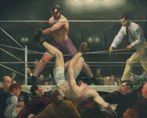 George Bellows: Dempsey and Firpo.