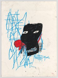 Jean-Michel Basquiat: Untitled.