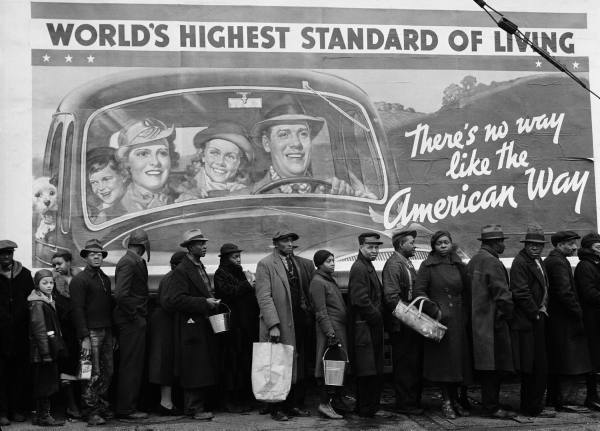 Margaret Bourke-White: Kentucky Flood.